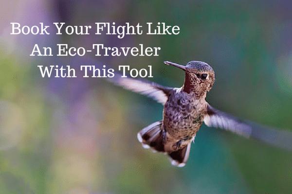 eco-friendly flight booking