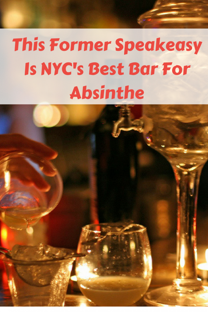 absinthe in NYC