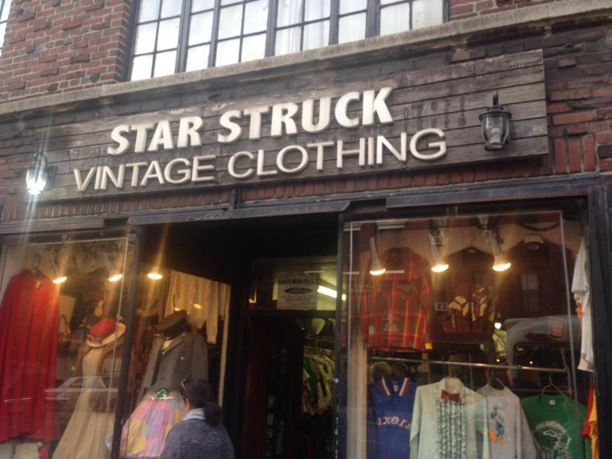 vintage shopping in nyc