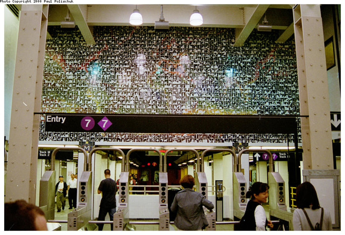 art in the subway