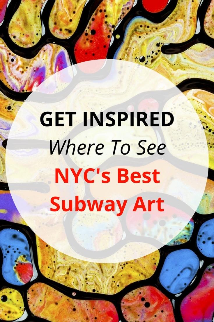 art on the subway