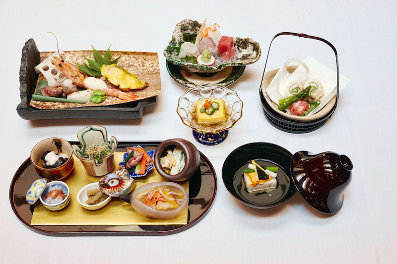 food pairing for couples at The Kitano Hotel NYC