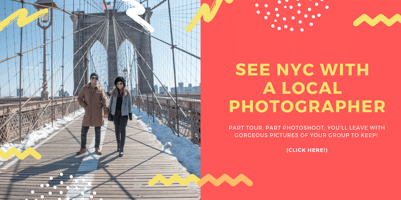 NYC PHOTO TOUR BROOKLYN BRIDGE