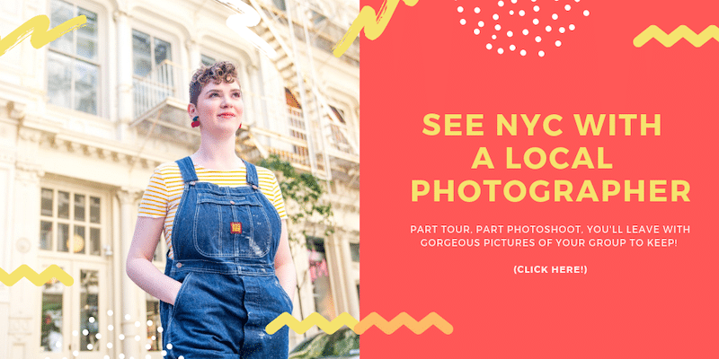 PRIVATE NYC PHOTO TOUR