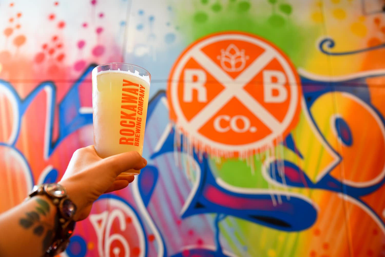 rockaway brewery nyc in fall