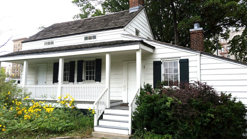 edgar allan poe cottage nyc