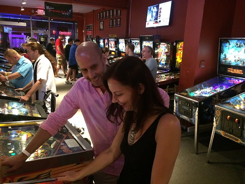 fun activities in nyc for couples include Modern Pinball