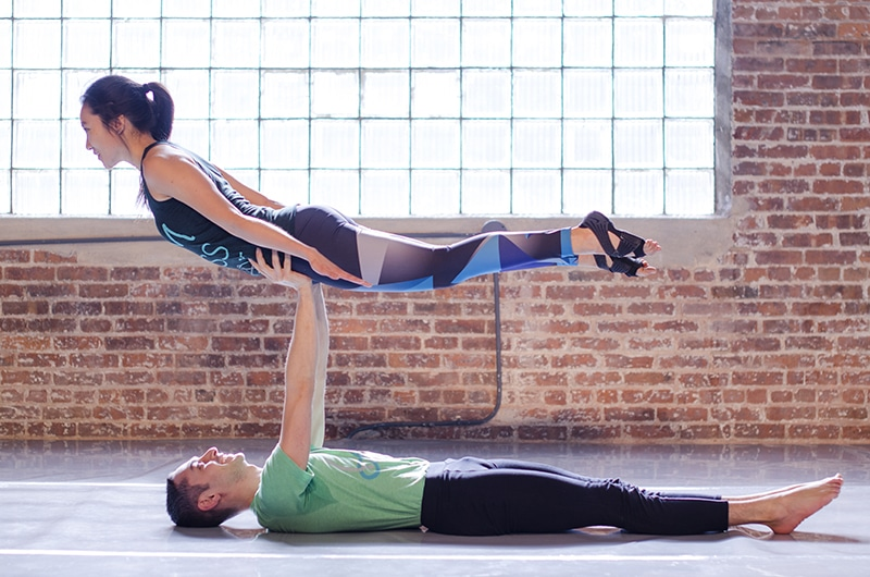 fun activities in nyc for couples include acro-yoga
