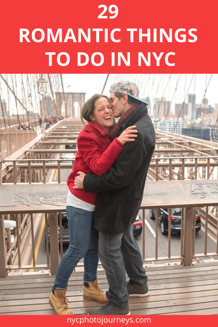 Romantic things to do in NYC abound. Whether you're looking for date ideas for winter (Valentine's Day!), spring, summer, or fall, we've got your covered with places for romance in New York City that go beyond the obvious spots like Central Park and the Empire State Building. // #NYCRomance #NewYorkCity #NYC #NYCDateIdeas