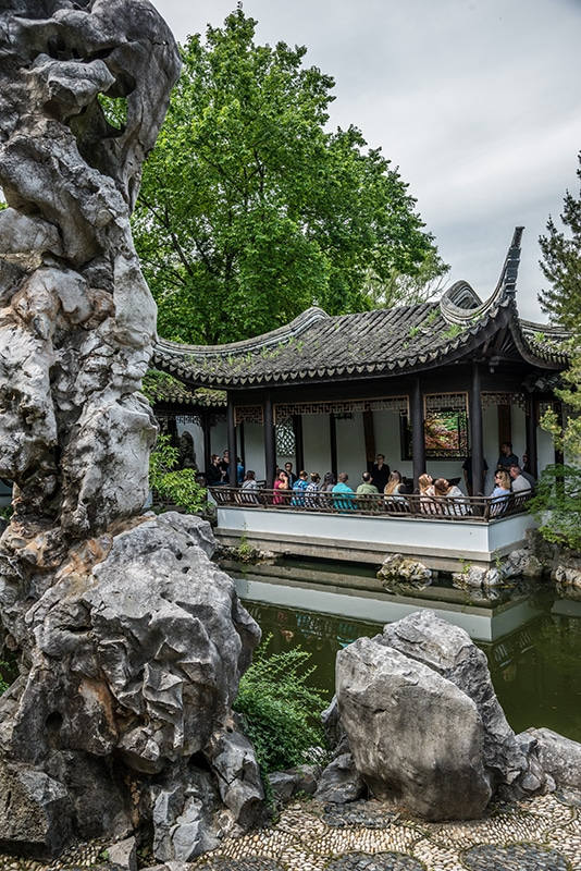 Snug Harbor Cultural Center is a great date spot for couples