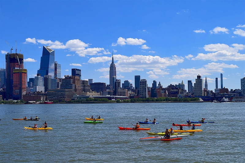 fun activities in nyc for couples include kayaking