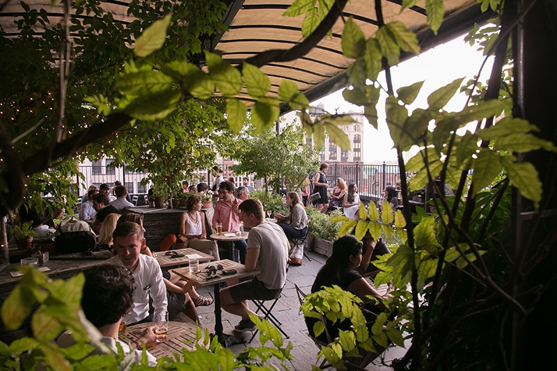 gallow green fun spring nyc date idea