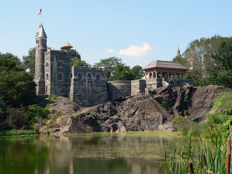 Belvedere Castle is an important part of Central Park history and a popular NYC date spot
